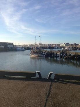 Bridlington Harbour Photo Alan Holmes @AliHolmes3